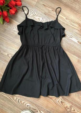 Короткое легкое платье h&m