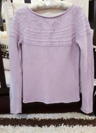 Шикарный мягкий свитер с ангорой