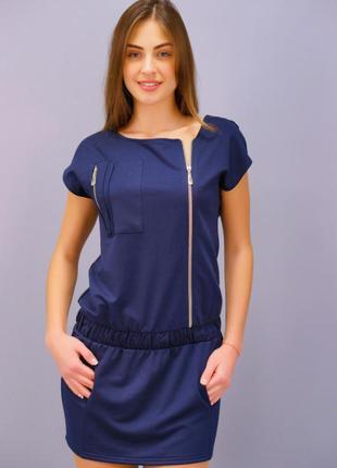 Платье-блузон