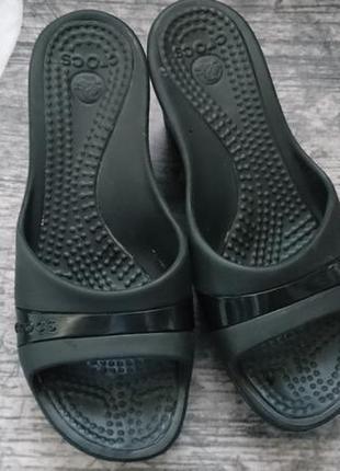 Шлепанцы crocs, кроксы 37