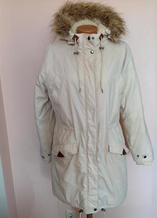 Куртка- парка на синтепоне с капюшоном. / м/ brend  cubus