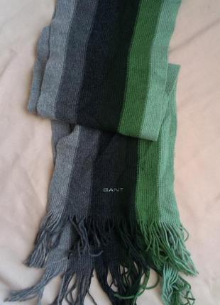 Распродажа шерстяной шарф gant