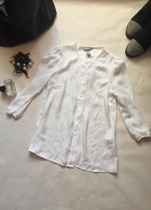 Белая блузка. рубашка