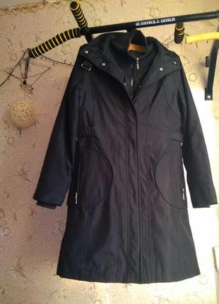Крутенное непродуваемое и теплое термо пальто от от кежуал -оригинал!!!!