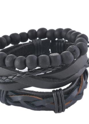 Крутой комплект браслетов-мужской5