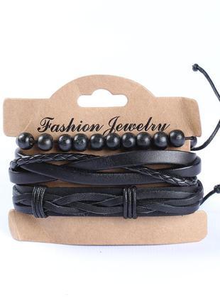 Крутой комплект браслетов-мужской2
