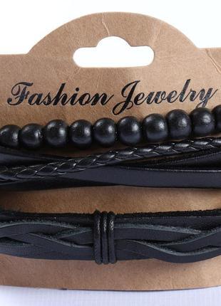 Крутой комплект браслетов-мужской3 фото