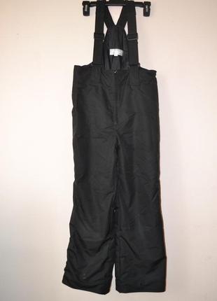 Теплые штаны-комбинезон phenix. унисекс. рост 152-158.