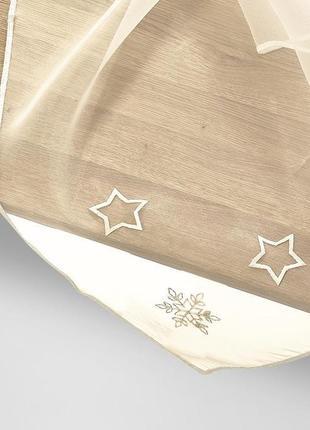 Фирменная декоративная скатерть из органзы от tcm tchibo.