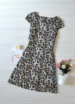 Стильне плаття в леопардовий прінт orsay.