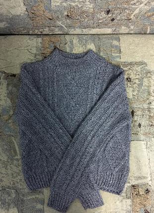 Укорочённый свитер кофта джемпер