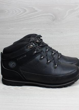 Мужские кожаные ботинки firetrap, размер 42