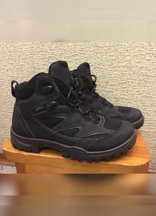 Ботинки ecco gore-tex сапоги.