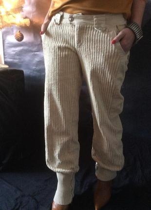 Onyx тёплые вельветовые брюки