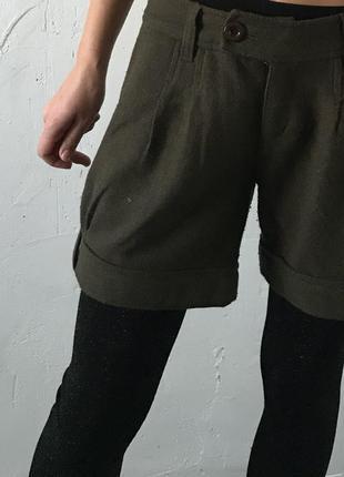 Шерстяные шорты крутого бренда calvin klein