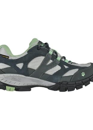 Трекинговые кроссовки jack wolfskin volcano texapore soft green!размер 39