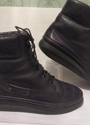 Суперовые зимние ботинки, сапоги, полусапожки ecco оригинал р. 38