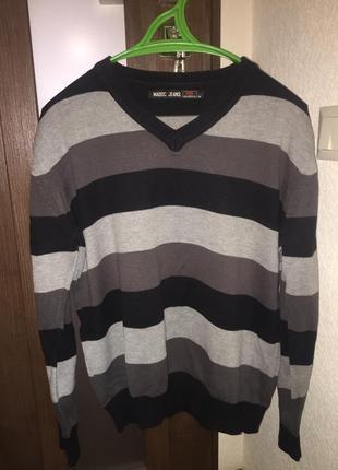 Кофта светр пуловер свитер madoc jeans