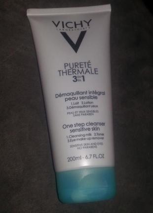 Vichy purete thermale three in one средство для снятия макияжа
