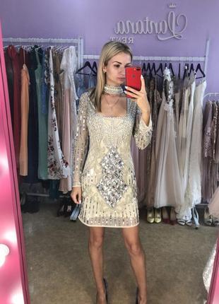 Красивое платье в пайетках и стразах аsos