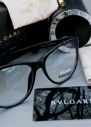 Очки bvlgari женские имиджевые , инкрустированые камнями