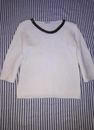 Тёплый нарядный свитер tiramisu раз.м/l