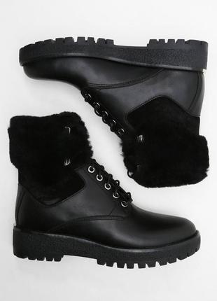 Ботинки michael kors teddy boots