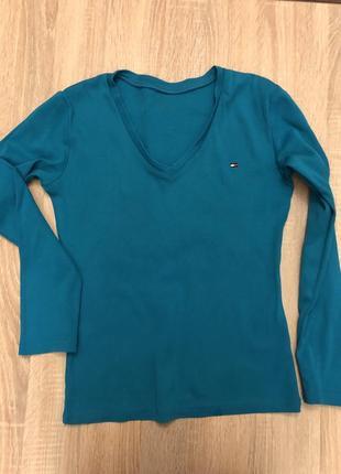 Реглан футболка кофта tommy hilfiger s/m оригинал