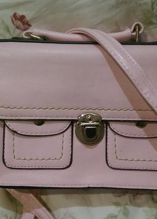 Отличная пудровая сумочка на две стороны