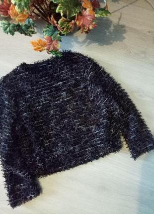 Брендовый укороченный свитер травка от therese1
