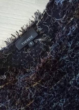 Брендовый укороченный свитер травка от therese2