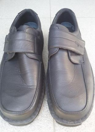 Туфли осенние pu кожа  easy go