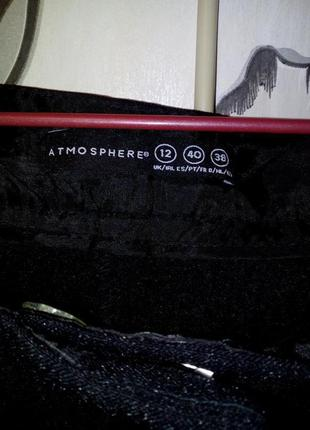 Классические черные брюки со стрелками от бренда atmosphere3