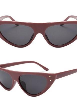 6d63469f4780 Женские солнцезащитные очки кошечки лисички cat eyes трендовые новинка  стильные