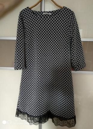 Платье george из плотной ткани
