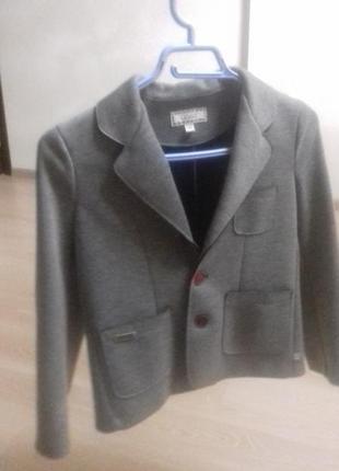 Пиджак трикотажний