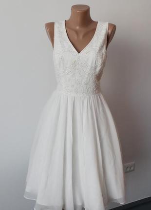 Миле нарядне брендове плаття ted baker m 2 вечернее выпускное свадебное платье
