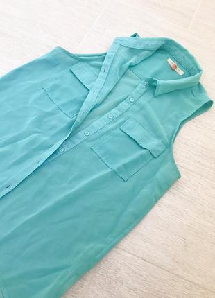 Блуза с коротким рукавом bershka