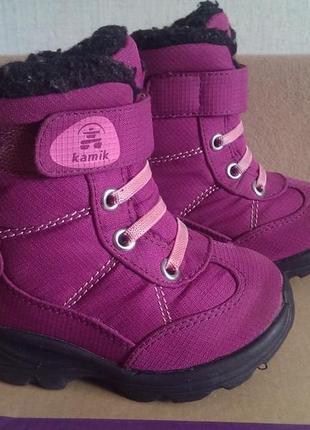 Зимние ботинки kamik snowman р. 23
