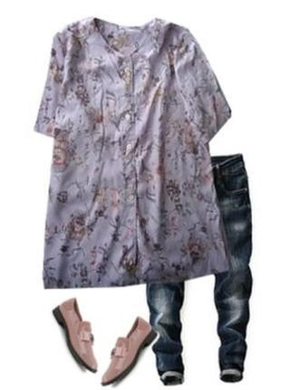 Шолковая блуза размер 48-50