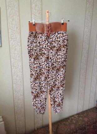 Все до 100 грн/ стильные летние брюки бананы1 фото