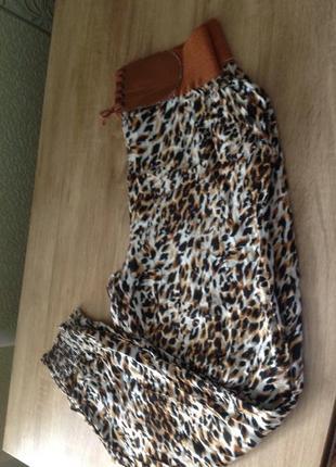 Все до 100 грн/ стильные летние брюки бананы3 фото
