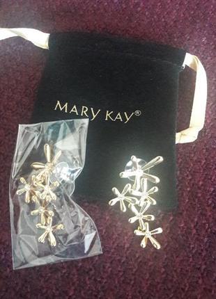 Серьги mary kay