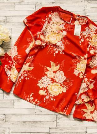 Красивая блуза в цветы george