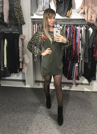 Платье-свитшот 🇮🇹