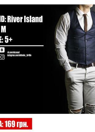 Приталенная жилетка от river island.