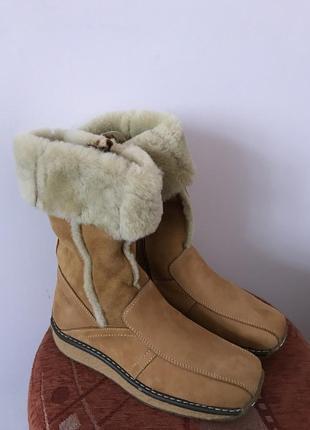 Новые зимние ботинки polaris