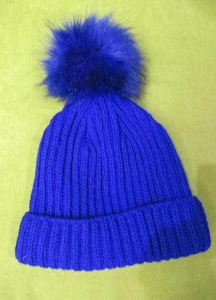 Вязанная шапка topshop