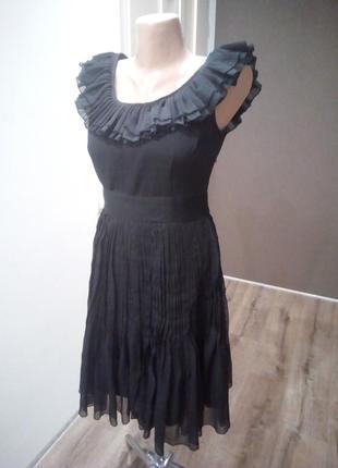 Нарядное платье плиссе