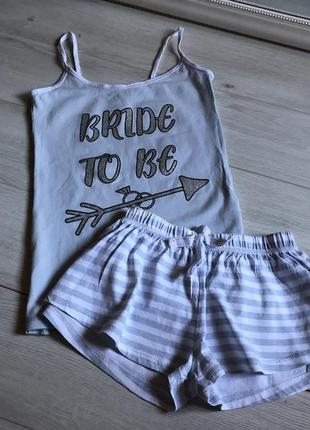 Пижама шортами love to lounge